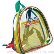 Half Moon Kids Clear Custom Backpack images