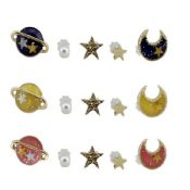 Star and Moon Fashion Gift Lapel Pin images
