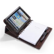 Leather Portfolio with Notepad 6 Ring Binder images
