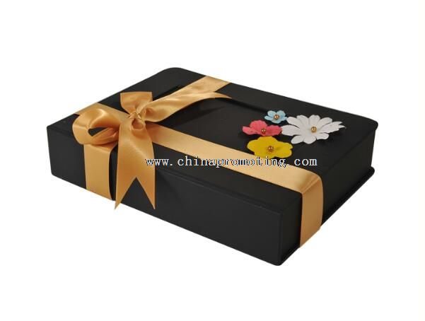 Black Paper Gift Box For Apparel