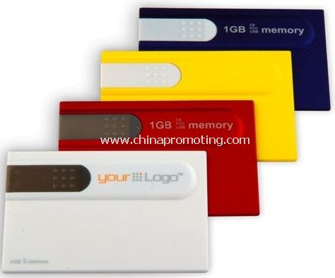 Logo Printed Card USB Flash Drive